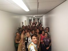 Corridor selfies!!! #PGSDREAM