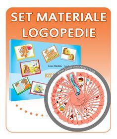 set-kit-de-evaluare-+-paletar-logopedic Kit, Montessori, Speech Language Therapy, Bebe