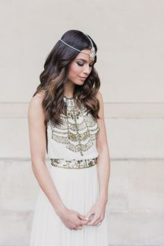 Skip the traditional white wedding gown for one of these fashion-forward bridal ideas: