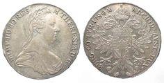 Haus Habsburg AUSTRIA Thaler 1780 I.C.F.A. MARIA THERESA Vienna (1795-1853) silver XF # 42624 EF