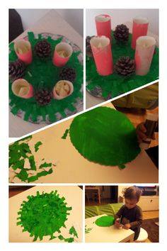 D's advent wreath