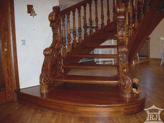 Лестницы из дерева.