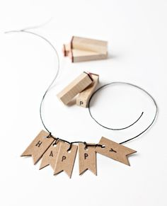 Thank you kindly 'Things I Love' for the mention of our DIY garland!