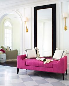 A pop of pink ... McGill Design Group