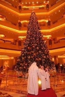 World's Most Expensive Christmas Tree --Guinness world record...This article has details about the decoration of the tree..Check it out...whew!