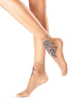 Oroblu Flower Daisy Socks