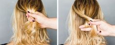 How to Create Elegant Chignon on Short Hair Cowgirl Hair, Curly Girl, Cut And Style, Easy Hairstyles, Short Hair Styles, Pin Up, Hair Makeup, Elegant, Pretty