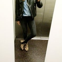 maruti passoa leopard boots