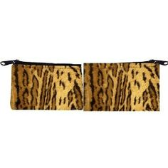 Rikki Knight Leopard Spots Scuba Foam Coin Purse Wallet - unisex - Affordable gift for all occassions