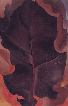Georgia O'Keefe. Autumn Leaf 1927 2