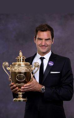 Wimbledon Champion 2017. Roger Federer #8