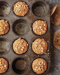Homemade nut muffins. #sweet #cake #backing
