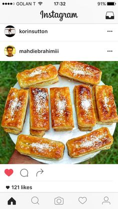 Persian puff pastry cakes