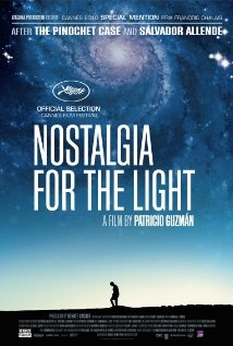 Film poster for Nostalgia for the Light by Patricio Guzman - out in the UK in April, a beautiful film, go and see it!