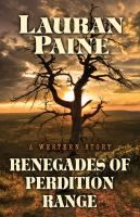 Cover image for Renegades of Perdition Range
