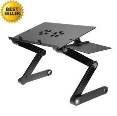 Elegant Zigzag Laptop Table