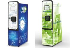 Machines to offer redeemable points for deposited recyclables - Business Olympic Idea, Recycling Machines, Machine Design, Industrial Design, Vending Machines, Business, Projects, Minimal, Ice