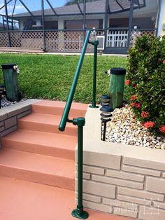 10 Best Handicap Accessible Porch Railing Images Outdoor | Handicap Rails For Steps | Grab Rail | Deck | Porch Railing | Bed Rails | Activated Led