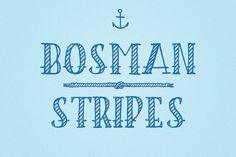 BOSMAN_stripes by Pan Cabaj on @creativemarket