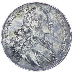 Bayern, Maximilian III. Joseph 1745 - 1777 Madonnentaler 1768 Silber
