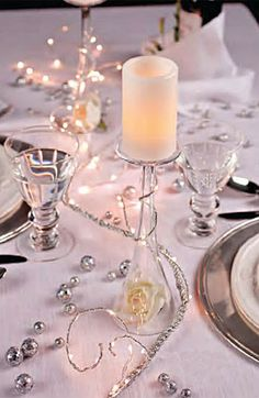 Check out the deal on Battery Operated Silver Garland - 6 Feet 60 Warm White LED'S - Timer at Battery Operated Candles