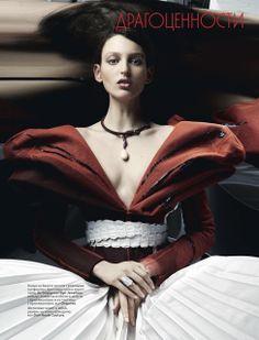 Christian Dior, Vogue Russia, 2011