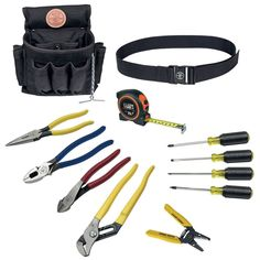 Klein Tools 12-Piece Electrician Tool Set