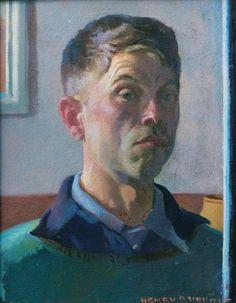 Henry Hensche, self portrait