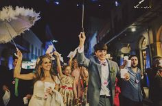 Dans les rues #mariage #wedding #animation