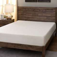 Gel memory foam mattresses are superior to traditional style mattresses in every way. They do not compress, sag or bunch and relieve pressure points and aid circulation for the best night's sleep you've had.