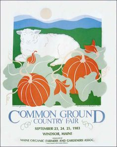 Maine Organic Farmers and Gardeners Association > The Fair > Poster > 1983