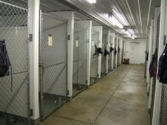 Beverly Animal Shelter....  like the FRP dividing walls