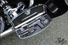 Concealed carry for the motorcycle