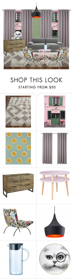 """""""Без названия #5719"""" by maria-kononets ❤ liked on Polyvore featuring interior, interiors, interior design, home, home decor, interior decorating, La Maison, Serena & Lily, Pier 1 Imports and Zuo"""