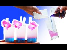 (17) Color-Changing Tea - YouTube