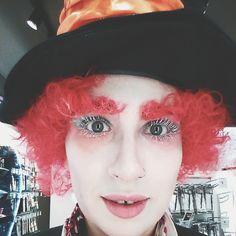 Maquillaje de fantasía, Alicia en el País de las Maravillas, El Sombrerero Loco. Por Beautik.
