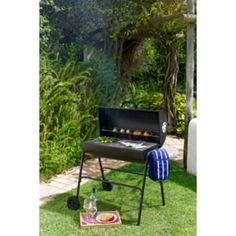 Oil Drum Charcoal BBQ with Cover. Get marvelous discounts up to Off at Argos with Discount and Voucher Codes. Oil Drum Bbq, Garden Furniture, Outdoor Furniture Sets, Offset Smoker, Charcoal Bbq, Outdoor Chairs, Outdoor Decor, Cooking On The Grill, Argos