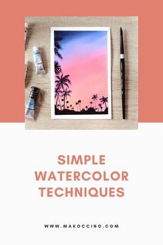 Are you wanting to get back into watercolor painting? Check out this blog for tips on how to watercolor paint! Hey, I'm Mako from the YouTube channel 'makoccino'! Here you will find my tips and tutorials on how to do watercolor paintings! Find me on Instagram @makoccinos #watercolor #watercolorartist #howtowatercolor Easy Watercolor, Watercolour Painting, Painting Process, Get Back, Watercolor Techniques, Easy Paintings, Watercolours, Simple Way, Special Gifts