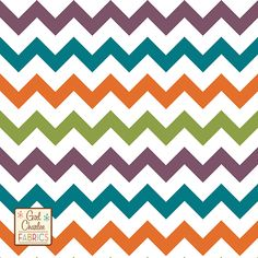 Love this fabric too!! Another Maxi Skirt in the making!!! Kingfisher Chevron Cotton Jersey Blend Knit Fabric