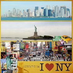I <3 NY :: Digital Layout by Lizzy