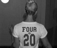 420 Weed Lover Jersey Tshirt Women Streetwear by Fashionisgreat, $17.00