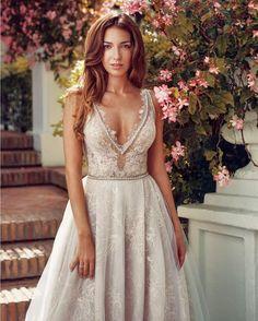 Swooning over this beautiful feminine and elegant dress by @galialahav This…