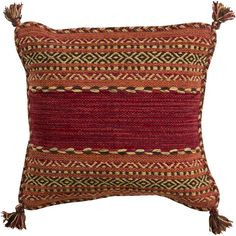 Brayden Studio Boho Cotton Throw Pillow
