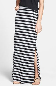Caslon® Stretch Knit Maxi Tube Skirt (Regular & Petite) available at #Nordstrom
