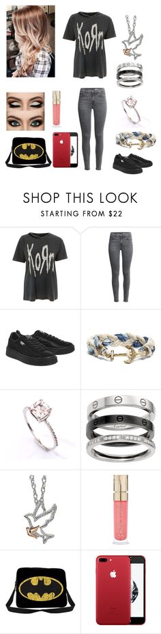 """Untitled #46"" by itsbarringerbabe ❤ liked on Polyvore featuring And Finally, Puma, Brooks Brothers and Smith & Cult"