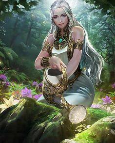 'Galaktrìl' - A new amazing fantasy trilogy. Fantasy Art Women, Fantasy Rpg, Dark Fantasy Art, Fantasy Girl, Illustration Fantasy, Character Illustration, Fantasy Paintings, Fantasy Artwork, Fantasy Inspiration