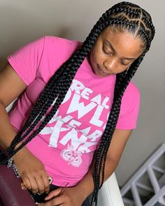 Feed In Braids Hairstyles, Braids Hairstyles Pictures, Braided Hairstyles For Black Women, Dreadlock Hairstyles, Weave Hairstyles, Girl Hairstyles, Wedding Hairstyles, Black Hairstyles, Black Girl Braids