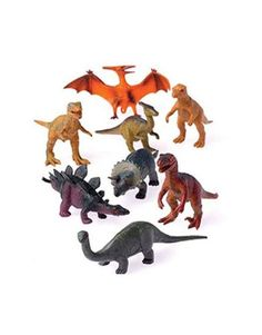 12 - Assorted Medium Sized Plastic Toy Dinosaurs Play set figures. US Toy,http://www.amazon.com/dp/B00362TR2Q/ref=cm_sw_r_pi_dp_PGbDtb1ATQGEZADK