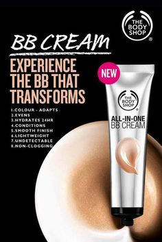 The Body Shop All-in-One BB Cream - The Body Shop All-in-One BB Cream Best Picture For Skincare cartoon For Your Taste You are lookin - Body Shop Skincare, Body Shop Products, The Body Shop Logo, Body Shop Christmas, Body Shop Vitamin E, Sephora, Body Shop Tea Tree, Bb Cream, Body Shop At Home