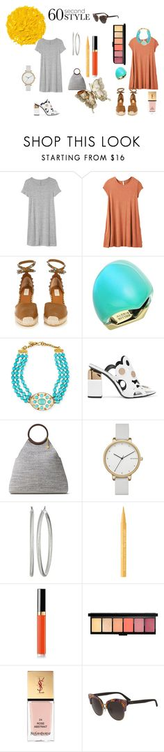 """60 SECOND STYLE"" by susibonvi ❤ liked on Polyvore featuring Gap, RVCA, Valentino, Alexis Bittar, Ashley Pittman, Pierre Hardy, Michael Kors, Skagen, GUESS and Illamasqua"